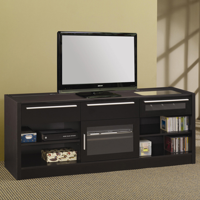 Most Recent Black Tv Stands With Drawers Intended For Santa Clara Furniture Store, San Jose Furniture Store, Sunnyvale (View 14 of 20)