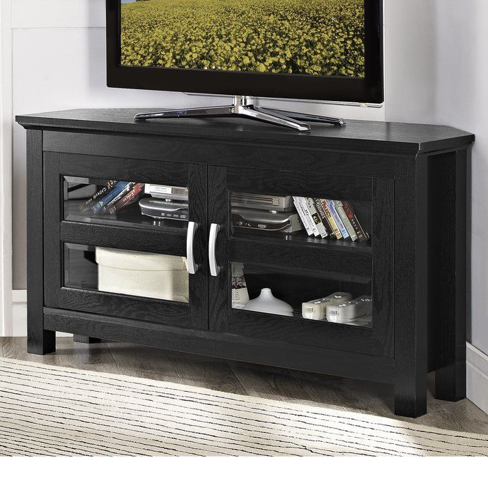 Most Recent Black Wood Corner Tv Stands With Jackson Wood Corner Tv Stand Is A High Grade Pvc And Mdf Tv Cabinet (View 15 of 20)