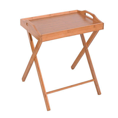 Most Recent Folding Tv Tray Table Stand Eating Snack Dinner Coffee Wooden Home In Folding Tv Trays With Stand (View 12 of 20)