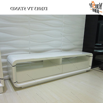 Most Recent Glossy White Tv Stands Pertaining To Modern Tv Unit Glossy White Tv Cabinets Latest Designs – Buy White (View 14 of 20)