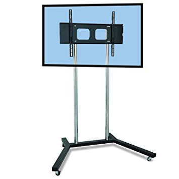 """Most Recent Kenzie 60 Inch Open Display Tv Stands Within Fs401 Premium Exhibition Tv Stand For 32"""" To 60"""" Led: Amazon.co.uk (Gallery 8 of 20)"""