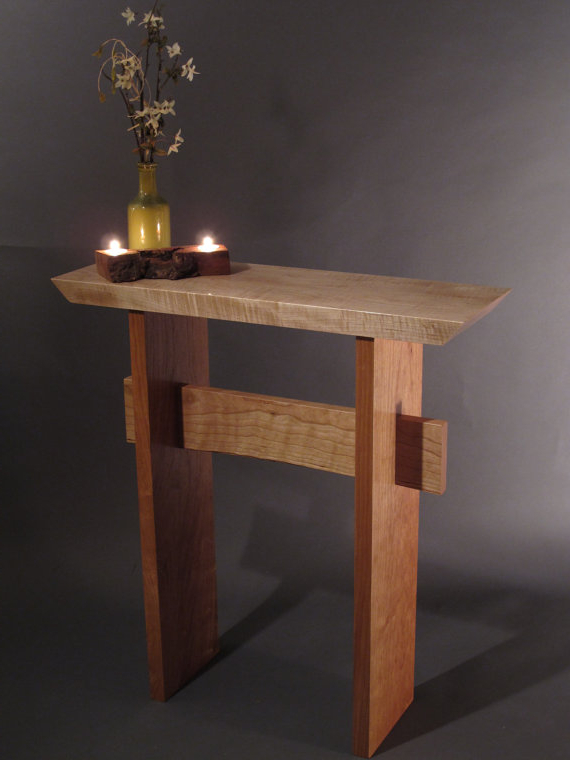 Most Recent Layered Wood Small Square Console Tables Pertaining To Pinnessa Dzafic On Cute Furniture And Ext (View 11 of 20)