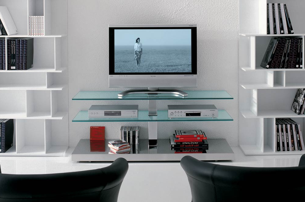 Most Recent Modern Contemporary Tv Stands Pertaining To Best Contemporary Tv Console For Flat Screens — All Contemporary Design (View 13 of 20)