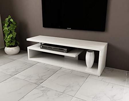 Most Recent Modern Tv Cabinet 130 Cm Tv Shelf Tv Möbel Low Level Storage Unit For Low Level Tv Storage Units (View 13 of 20)