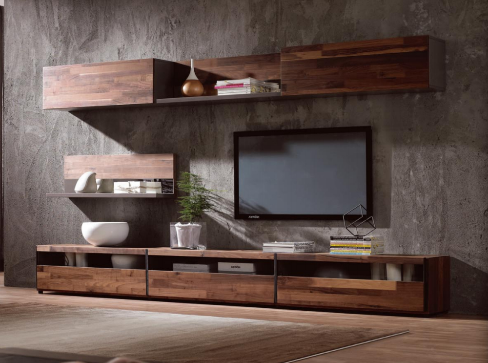 Most Recent Modern Wooden Tv Stands With Regard To More … (View 15 of 20)