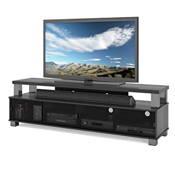 Most Recent Raven Grey Tv Stands Pertaining To Sonax B 003 Rbt Bromley Tv Stand, Ravenwood Black (View 5 of 20)