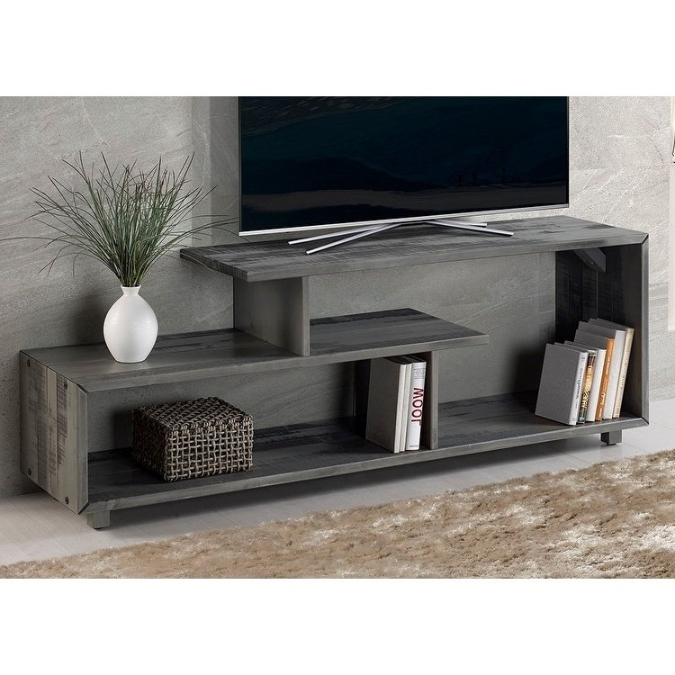 Most Recent Rowan 74 Inch Tv Stands With Regard To Buy Distressed, 42 – 60 Inches Tv Stands & Entertainment Centers (View 10 of 20)