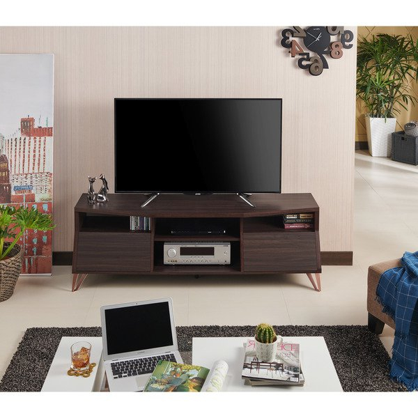 Most Recent Shop Furniture Of America Taliyah Contemporary Glam 63 Inch Tv Stand Regarding Kai 63 Inch Tv Stands (View 10 of 20)