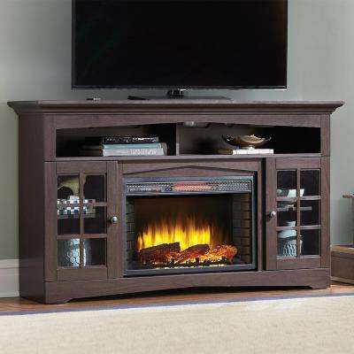 Most Recent Tv Stands – Living Room Furniture – The Home Depot For Cream Color Tv Stands (View 11 of 20)