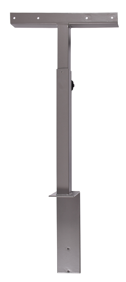 Most Recent Upright Tv Stands Regarding Decibel Upright Tv Stand, Gray (View 9 of 20)