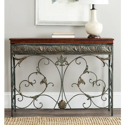 Most Recent Wakefield 85 Inch Tv Stands For Fleur De Lis Living Astin Console Table (View 12 of 20)
