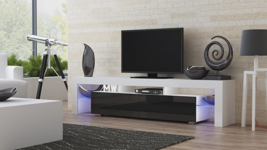 Most Recent Wide White Tv Stand Stands Gray 55 Modern Bedroom Sets Ameriwood With Regard To Large White Tv Stands (View 10 of 20)