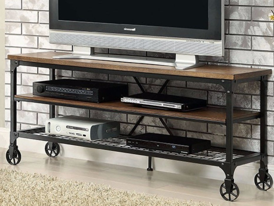 Most Recent Wyatt 68 Inch Tv Stands Inside 70 Inch And Larger Fireplace Tv Stands You'll Love (View 6 of 20)
