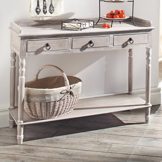 Most Recent Yukon Grey Console Tables Inside Piersurplus Console Table & Reviews (View 15 of 20)