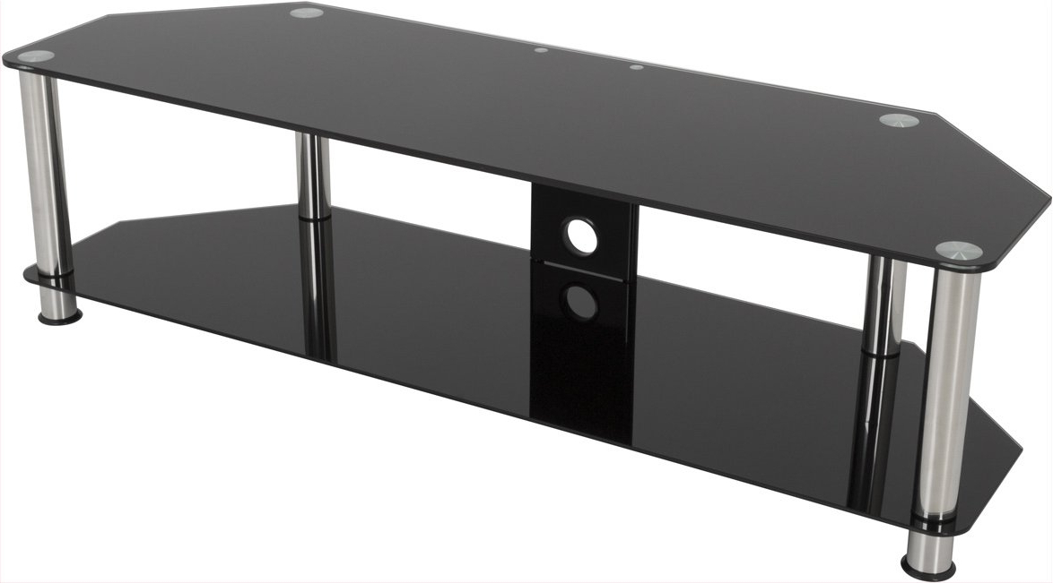 Most Recently Released Black Glass Tv Stands Pertaining To Avf Sdc1400cm Tv Stands (View 4 of 20)