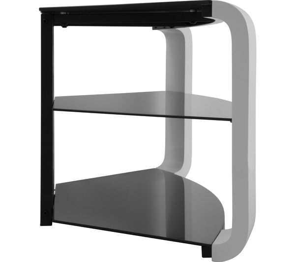 Most Recently Released Como Tv Stands Inside Buy Avf Como Fs1174Cogw Tv Stand – White (View 13 of 20)