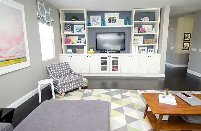 Most Recently Released Ikea Built In Tv Cabinets Throughout Diy Built In Using Ikea Cabinets And Shelves (View 9 of 20)