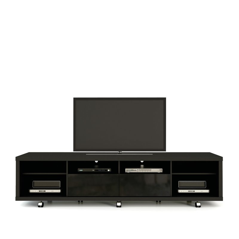 """Most Recently Released Modern Wooden Tv Stands Throughout Orren Ellis Newburyport Tv Stand For Tvs Up To 70"""" (View 16 of 20)"""
