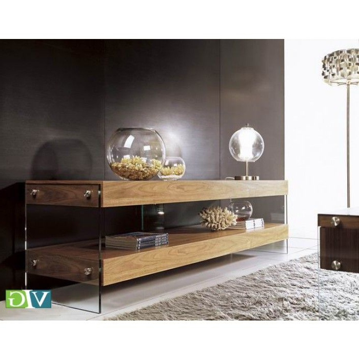 Most Recently Released Modrest Aura Modern Walnut Floating Tv Stand (View 18 of 20)