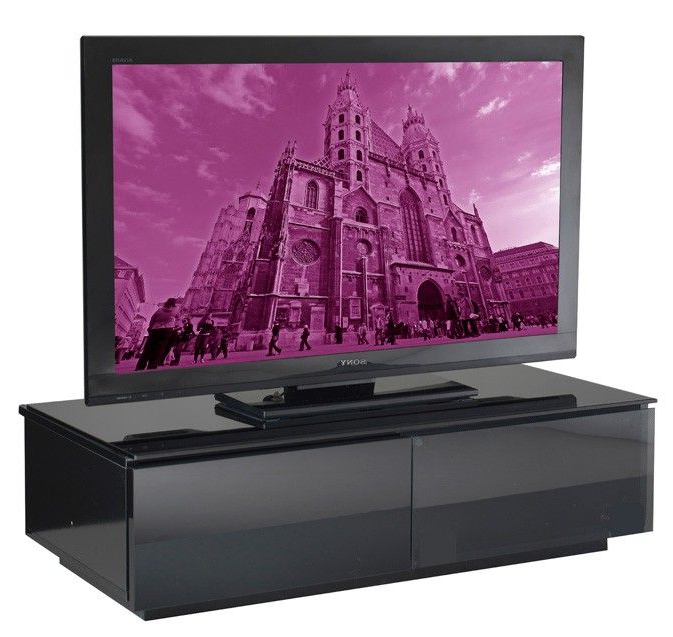 Most Recently Released Shiny Black Tv Stands Intended For Uk Cf Vienna Gloss Black Tv Cabinet (View 9 of 20)