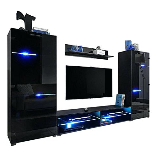 Most Recently Released Stands For 70 Inch Tv Modern Entertainment Center Wall Unit With Led Within Tv Stands For 70 Inch Tvs (View 13 of 20)