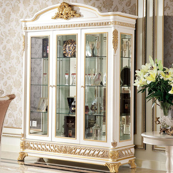 Most Recently Released Tv Display Cabinets With Regard To Yb62 French Rococo Style Living Room Furniture Wine Display Cabinet (View 8 of 20)