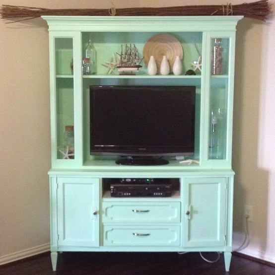 Most Recently Released Tv Hutch Cabinets Inside Turn An Old China Hutch Into A Tv Cabinetlove This Idea (View 1 of 20)
