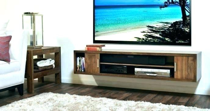 Most Recently Released White Wall Mounted Tv Stands Pertaining To Wall Hanging Tv Stand White Hanging Stand Wall Mount Stand Table (View 10 of 20)
