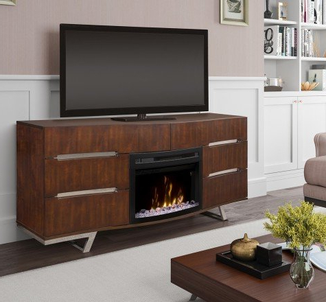 Most Recently Released Wyatt 68 Inch Tv Stands With Regard To 70 Inch And Larger Fireplace Tv Stands You'll Love (View 7 of 20)
