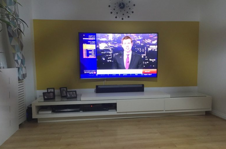 Most Up To Date 16 Diy Ikea Tv Stands And Units With Hacks – Shelterness Inside Extra Long Tv Stands (View 3 of 20)