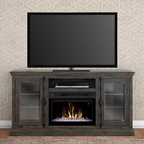 Most Up To Date Amazon: Dimplex Electric Fireplace, Tv Stand, Media Console And With Wyatt 68 Inch Tv Stands (View 8 of 20)