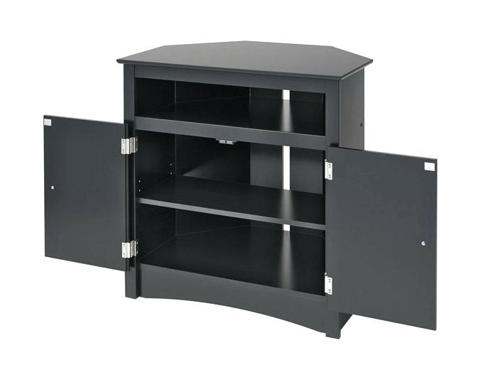 Most Up To Date Black Corner Tv Stands For Tvs Up To 60 With Regard To Black Corner Tv Stand Target Cabinet For Television How To Build A (Gallery 15 of 20)