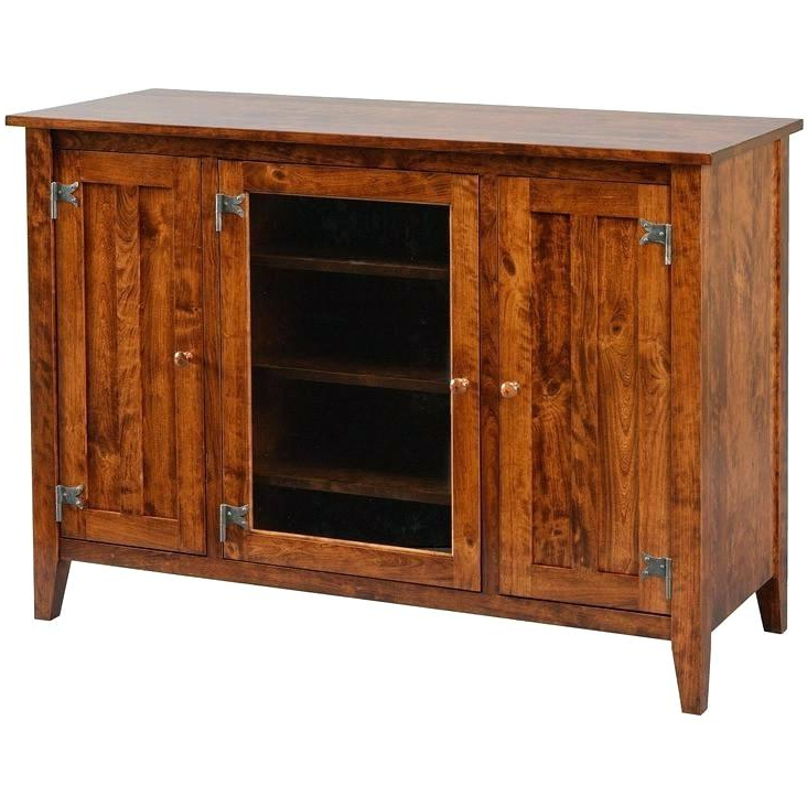 Most Up To Date Black Highboy Tv Stand Stand Riverside Sierra Console Black Wood Intended For Dixon Black 65 Inch Highboy Tv Stands (Gallery 9 of 20)