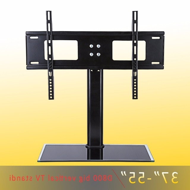 Most Up To Date Caden 63 Inch Tv Stands With Height Adjustable Durable Wall Mount Tv Bracket 37 55 Inch Screen (View 18 of 20)