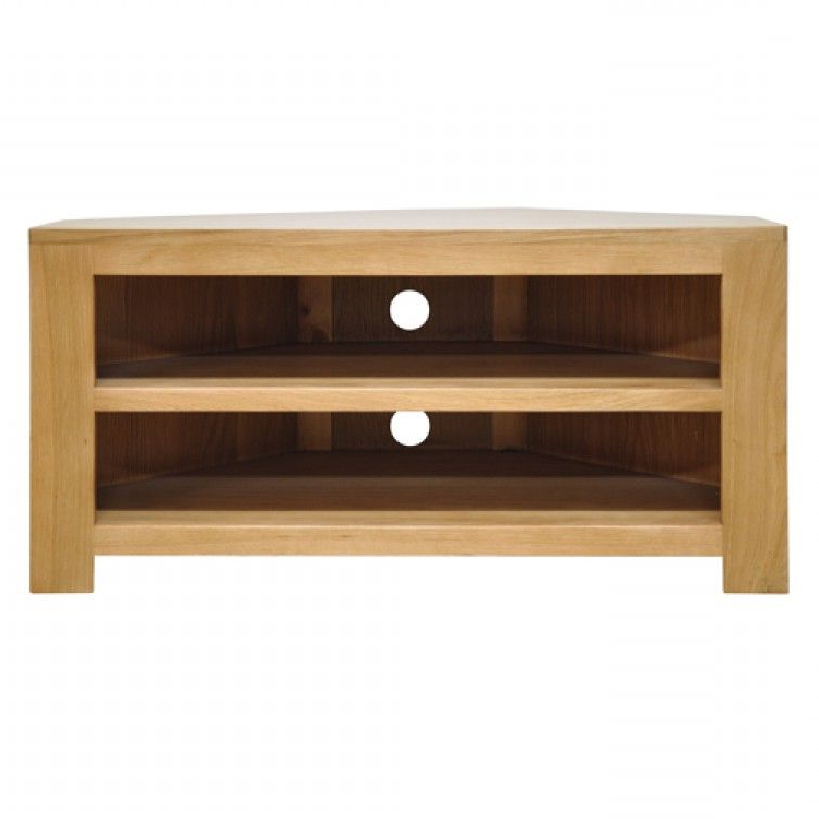 Most Up To Date Chunky Oak Furniture Corner Tv Unit (View 14 of 20)