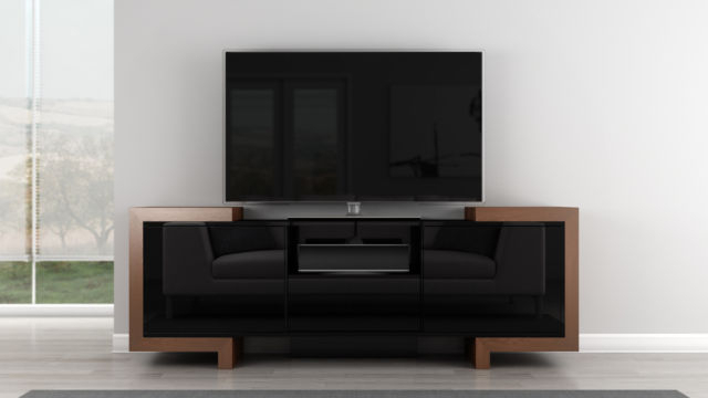 Most Up To Date Contemporary Tv Cabinets For Flat Screens With Furnitech 75 In (View 11 of 20)