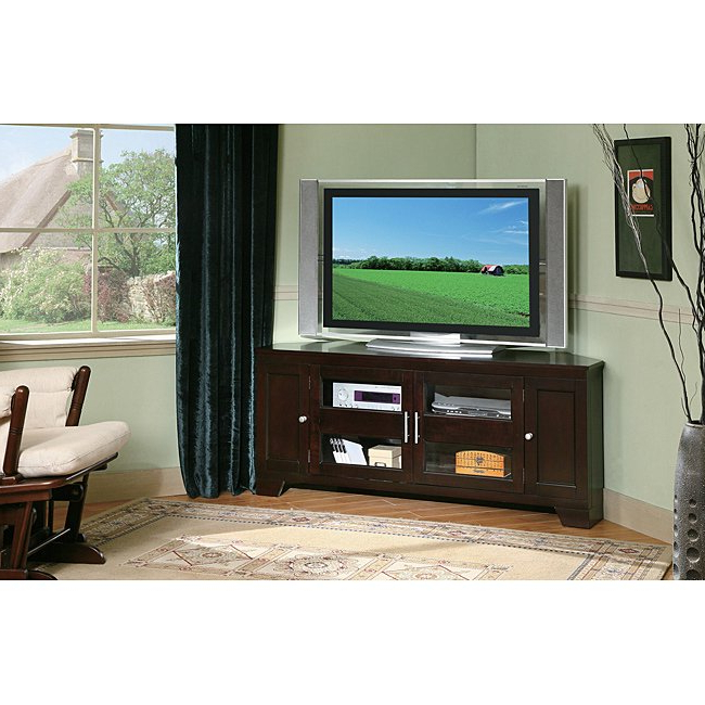 Most Up To Date Corner 60 Inch Tv Stands Regarding Shop William's Home Furnishing 60 Inch Corner Tv Stand – Free (View 14 of 20)