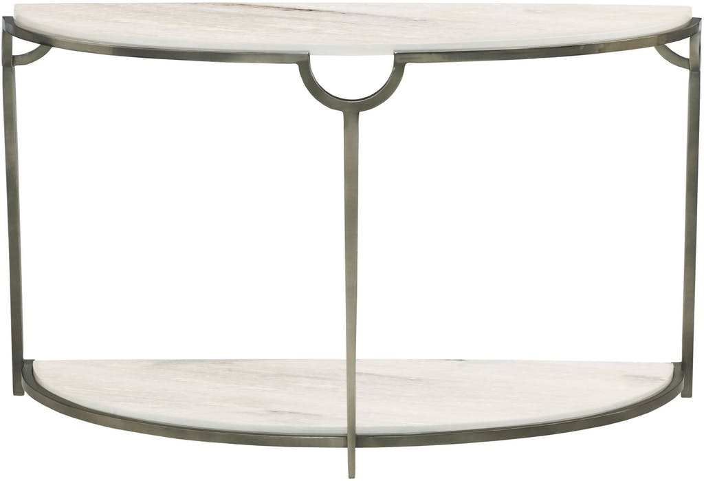 Most Up To Date Demilune Console Table Throughout Yukon The Furniture Mart Plan Inside Yukon Grey Console Tables (View 13 of 20)