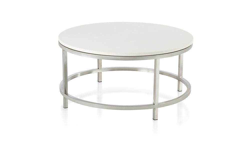 Most Up To Date Era Limestone Console Tables With Regard To Era Limestone Round Coffee Table (View 16 of 20)