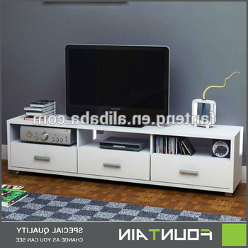 Most Up To Date Fancy Style Wooden Center Table Lcd Tv Cabinet Unit High Gloss Mdf With Regard To Fancy Tv Cabinets (View 3 of 20)