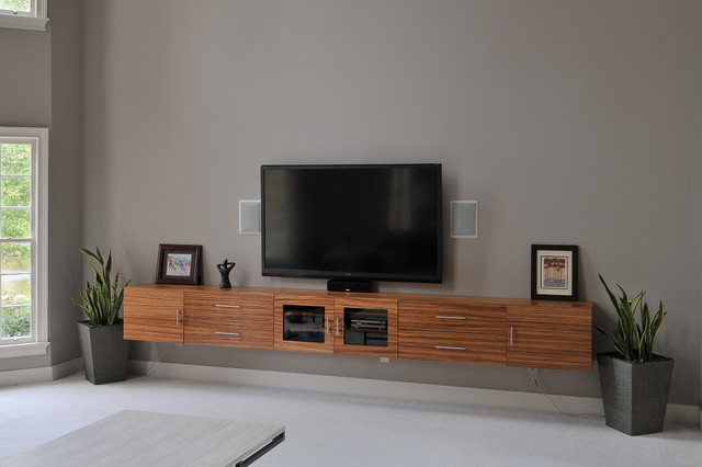 Most Up To Date Floating Tv Cabinets Regarding Floating Cabinet Under Tv – Happyhearts (View 18 of 20)