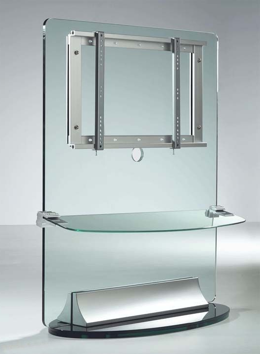 Most Up To Date Forma 65 Inch Tv Stands Inside Image Result For Glass Rotating Tv Stand (View 9 of 20)