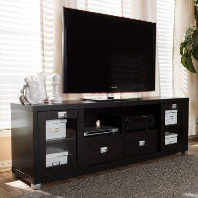 """Most Up To Date Glass Front Tv Stands For Hallstead 70"""" Tv Stand (View 19 of 20)"""