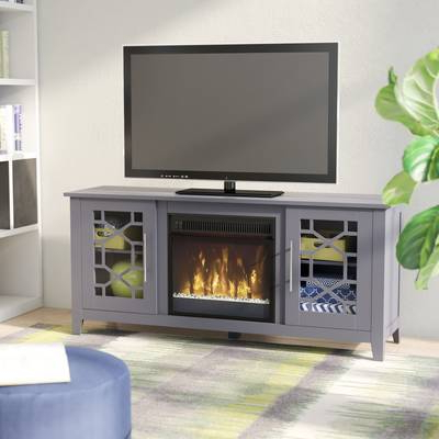 "Most Up To Date Gracie Oaks Liu Tv Stand For Tvs Up To 60"" & Reviews (View 10 of 20)"