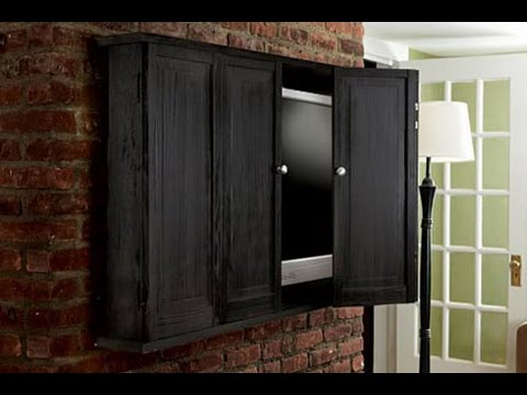 Most Up To Date How To Build A Wall Hung Tv Cabinet – This Old House – Youtube Regarding Tv Wall Cabinets (Gallery 20 of 20)