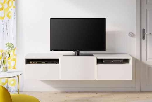 Most Up To Date Ikea Wall Mounted Tv Cabinets With Regard To Besta Tv Bench Wall Mount Seo Livingrooms Tmhrvw (View 18 of 20)