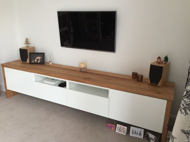 Most Up To Date Image Result For Ikea Besta Slimline Hack (Gallery 9 of 20)