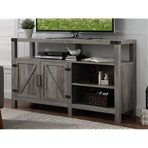 Most Up To Date Kilian Grey 60 Inch Tv Stands For Farmhouse Tv Stands: Amazon (View 16 of 20)