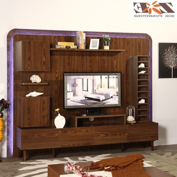 Most Up To Date Led Tv Cabinets For Wooden New Model Tv Cabinet With Showcase/living Room Led Tv Wall (View 10 of 20)