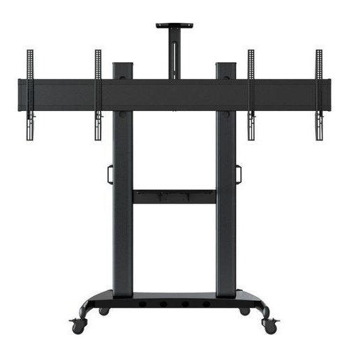 Most Up To Date Metal Dual Led And Lcd Tv Stand, Size: 32 85 Inch (View 11 of 20)